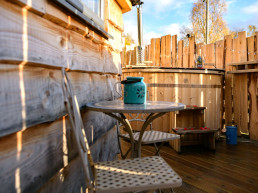 Dog-friendly holiday accommodation with hot tubs | Sweet Donside Cabins and Sweetheart Cottage