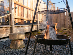 Holiday accommodation with BBQ and hot tub in Scotland | Sweet Donside Cabins