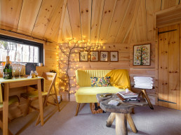 Luxury holiday cabins in the Cairngorms | Sweet Donside Cabins and Sweetheart Cottage